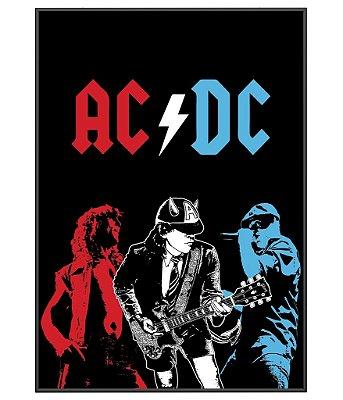 Poster Minimalista Banda ACDC