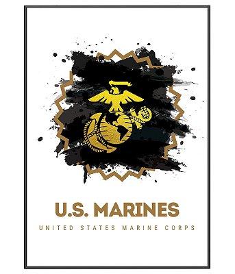 Poster Militar Marines EUA