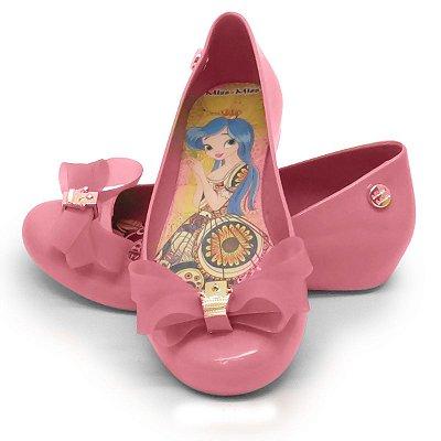 Sapatilha Infantil Laço Mota- Rosa BB