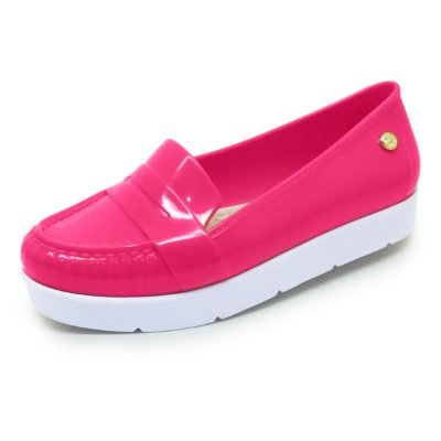 Mocassim Verniz Bright Sola Alta | Pink