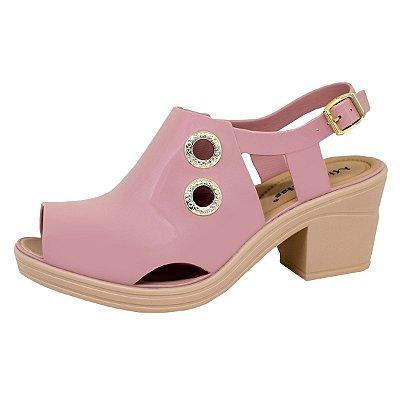 Sandal Boot Sola Baixa 134 | Rosê