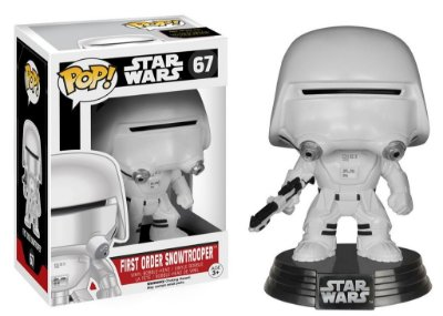 Funko Pop Star Wars FIRST ORDER SNOWTROOPER
