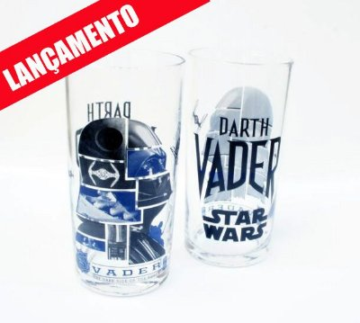 Copo Long Drink Star Wars Darth Vader  - Disney - 300 ml