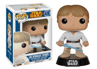 Funko Pop Star Wars Luke Skywalker Tatooine