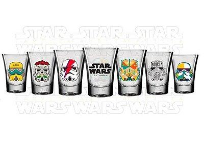 Kit Cachaça  Shot Star Wars - Disney - 6 x 60 ml