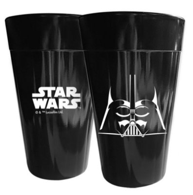 Copo Long Drink Star Wars Darth Vader - Disney - 450 ml