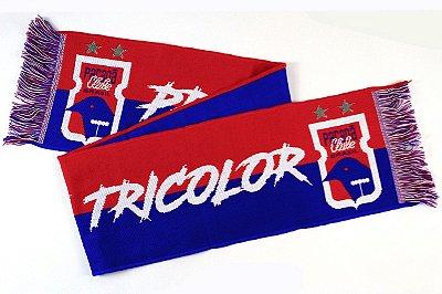 Cachecol 4 Estações • Pra Cima Deles Tricolor