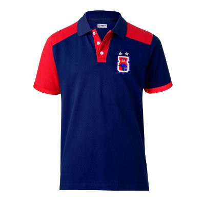 Camisa Polo • Paraná Clube • Marinho/Vermelho