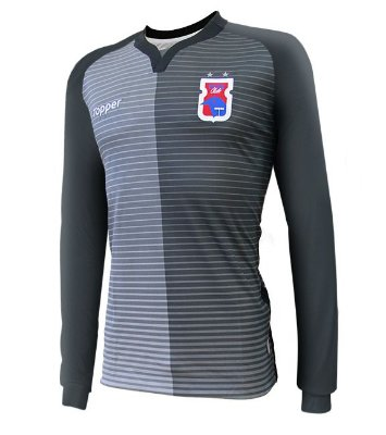 Camisa Oficial Goleiro Paraná Clube • Topper • 2017/2018