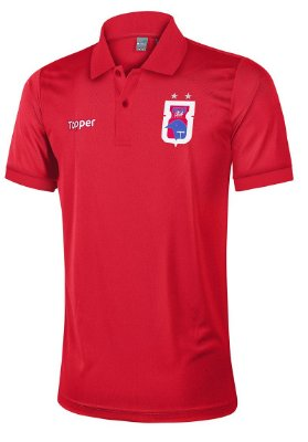 Camisa Polo Vermelha Paraná Clube • Topper