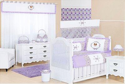 Enxoval Quarto de Bebê Completo Babi Enxoval de Bebê 15 peças