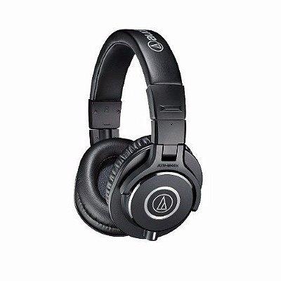 Audio Technica Ath-m40x Fones De Ouvido Profissional