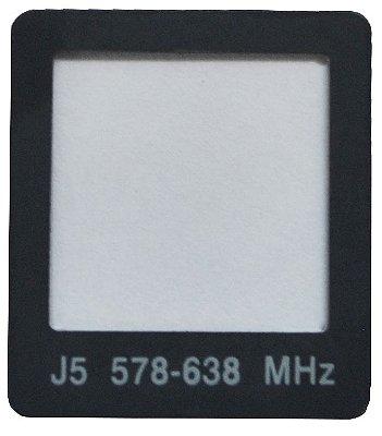 Shure 65a8676 Transmissor Lens Lcd Ur2 Parte De Reposição
