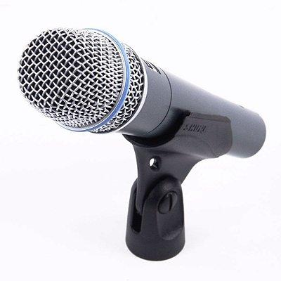 Microfone Dinâmico Supercardióide Original Shure Beta 57a