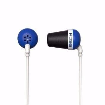 Fone De Ouvido Headphones Koss The Plug Azul Original