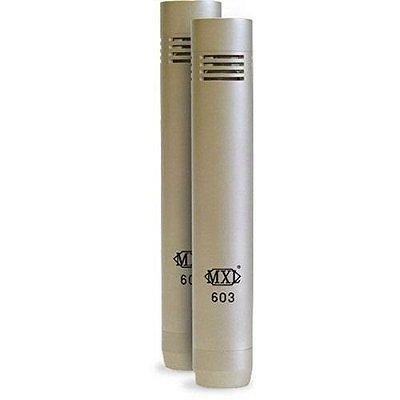 Pair Microfones Kit Condensador De Instrumentos Mxl 603
