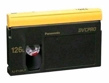 Fita Dvc Pro Panasonic Aj-p126lp