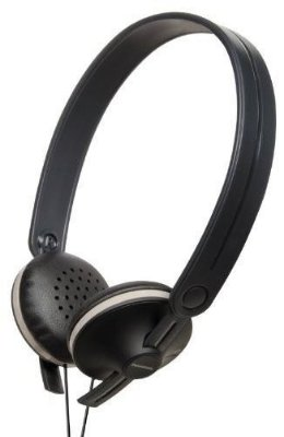 Panasonic Headphone Rp-hx35 Design Leve Preto C/ Branco