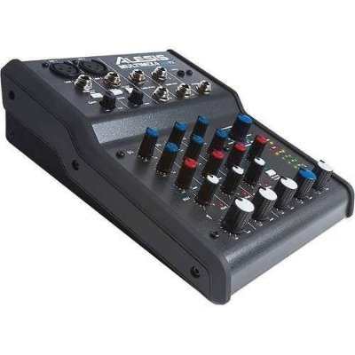 Alesis Multimix 4 Usb Fx 4-canais Mixer E Áudio Interface