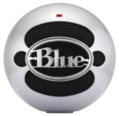 Blue Microphones Snowball Usb Microphone Aluminum