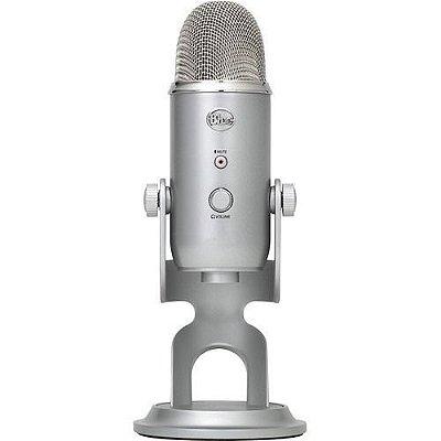 Blue Microfone Yeti Usb Condensador Studio Profissional
