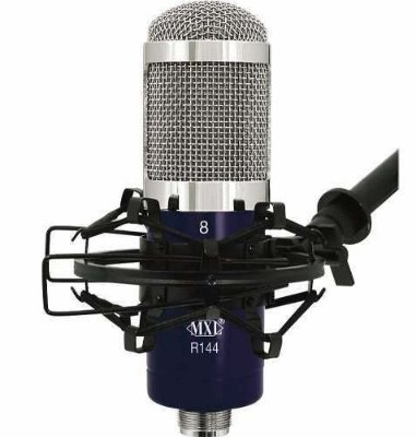 Microfone Ribbon Para Gravacoes Mxl R144