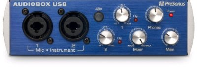 Presonus Audiobox Usb 2x2 Com Midi