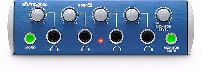 Presonus Hp-4 Amplificador Para Headphone Com 4 Canais