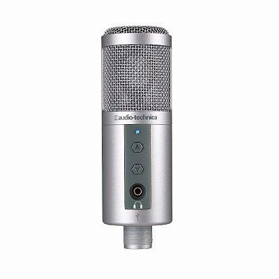 Audio Technica Atr2500-usb Microfone Usb Condensador Studio