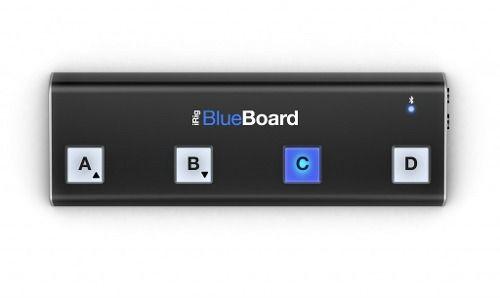 Irig Blue Board Pedaleira De Guitarra Midi Sem Fio Ios Mac