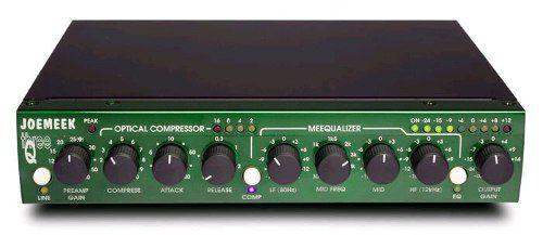 Pre Amplificador Microfone Instrumento Joemeek Three Q