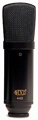 Mxl 440 Microfone Condensador Studio Profissional