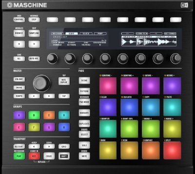 Native Instruments Maschine Mk2 Groove Production - Preto