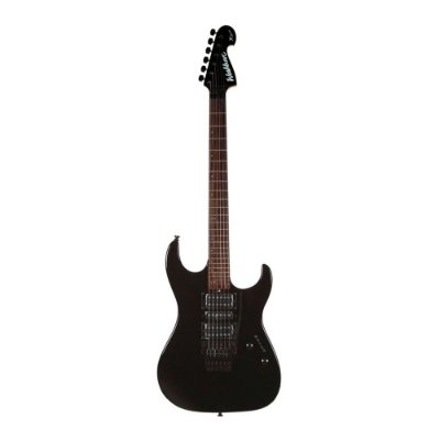 Guitarra Washburn X24 Aq Tb 24 Trastes Preta Ponte Floyd