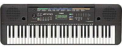 Teclado Yamaha Psr- E253 61 Teclas 5/8 Oitavas + Fonte