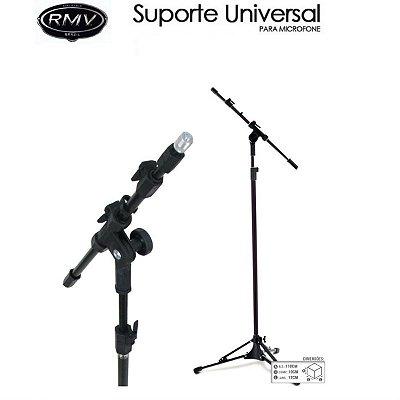 Pedestal Suporte Para Microfone Base Articulada Rmv Psu0090