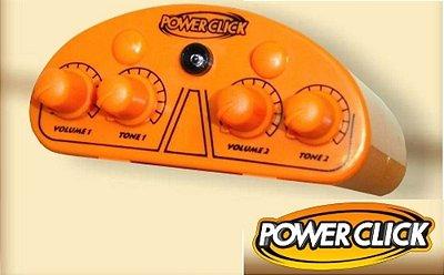 Amplificador De Fone Ouvido Power Click Db 05 Color Laranja