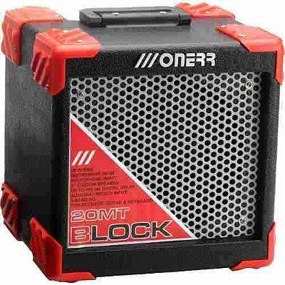Amplificador Para Violão teclado Onerr Block 20 Mt - 20w