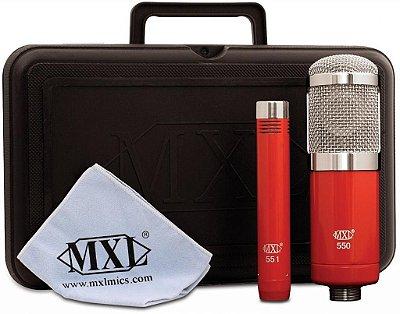 Kit Microfones Condensadores Mxl-550/551
