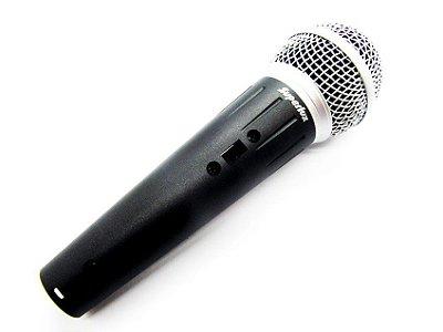 Microfone Profissional Superlux D103/02p Com Cabo Xlr P10
