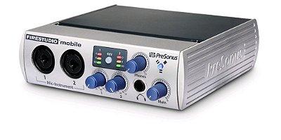 Fire Studio Mobile Presonus  10x6 Firewire Recording System