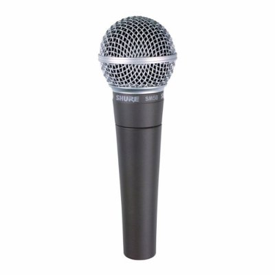 Microfone Profissional Shure Sm58-lc Cardióide Sm58 Original