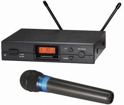 Microfone Sem Fio De Mão Audio Technica Atw2120