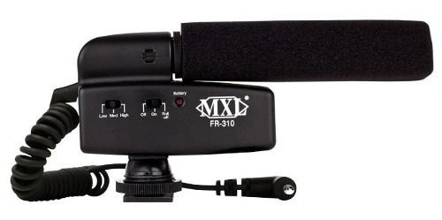 Mxl Fr 310 Microfone Shotgun Para Câmera Videomic