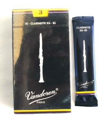 Palhetas Vandoren Clarinete Reed Cr1025 Nº2¹\² Cx 10 Unid
