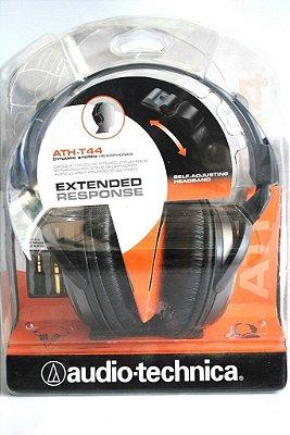 Headphones Dinâmico Audio Technica Ath-44