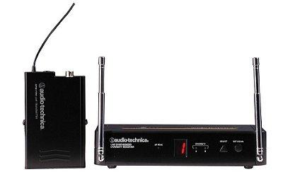Sistema Microfone De Lapela Sem Fio Audio Technica Atw-701
