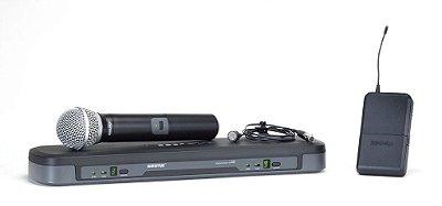 Shure Sistema De Microfone Sem Fio De Mão E Lapela Pg1288/pg185-H7