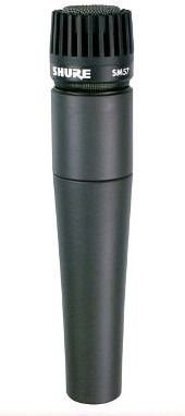 Microfone Dinâmico Profissional Shure Sm57-LC