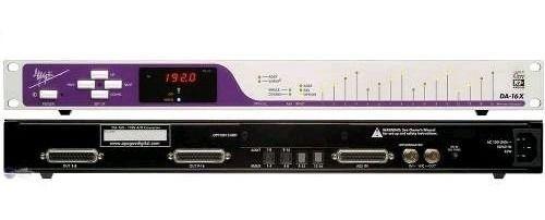Conversor Digital Apogee Da-16 Canais 192khz/24bit Novo
